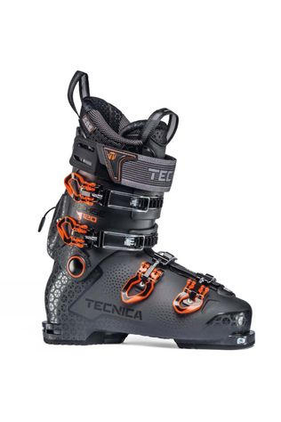 Tecnica Men's Cochise 120 DYN Ski Boot Grey Orange