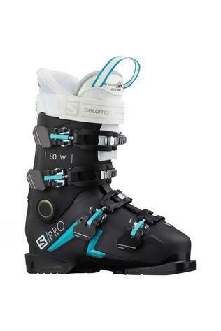 Salomon Women's S/Pro 80W Ski Boot Black blue