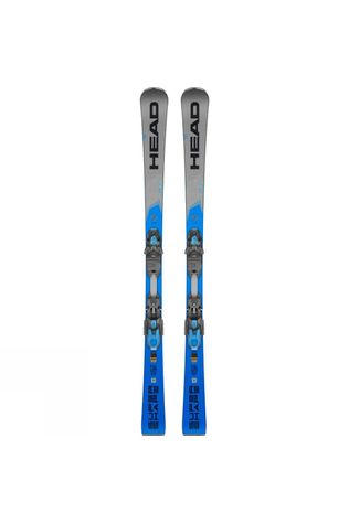 Head Men's Supershape I.Titan Skis With PRD 12 GW Binding Blue
