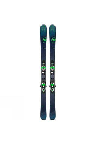 Rossignol Men's Experience 84 Ai Skis With NX 12 Konect GW Binding Blue Green