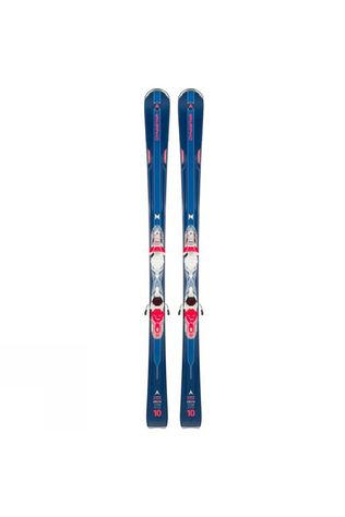 Dynastar Womens Intense 10 Ski + Binding Dark Blue / Coral