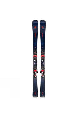 Rossignol Women's Nova 14 Ti Skis With NX 12 Konect GW Binding Blue Rose