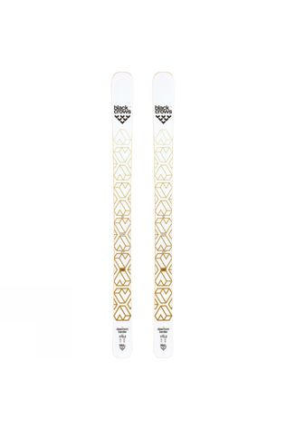 Black Crows Women's Daemon Birdie Ski 2017 (Ski Only) White/Gold