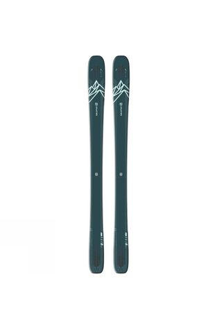 Salomon Womens Lux 92 Skis (Ski Only) Blue/Green