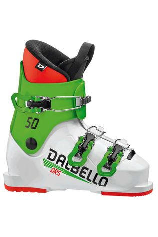 Dalbello Kids DRS 50 Ski Boot White / Race Green