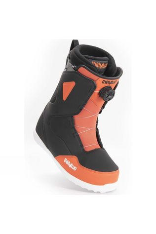 Thirty Two Mens Zephyr Boa Snowboard Boot Black / Flame Orange / Pewter Grey