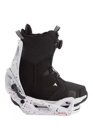 Burton Womens Limelight Step On Boot + Binding Package Black + Splatter