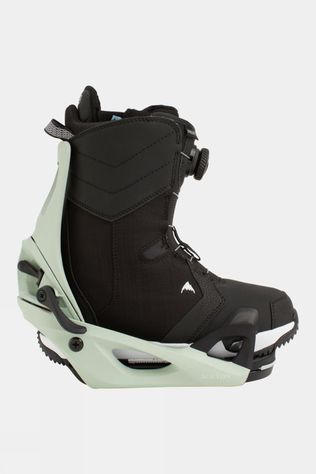 Burton Women's Limelight Step On Boot + Binding Package Black / Neo-Mint