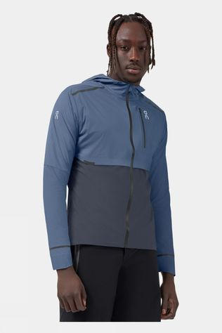 On Mens Weather Jacket Cerulean/Dark