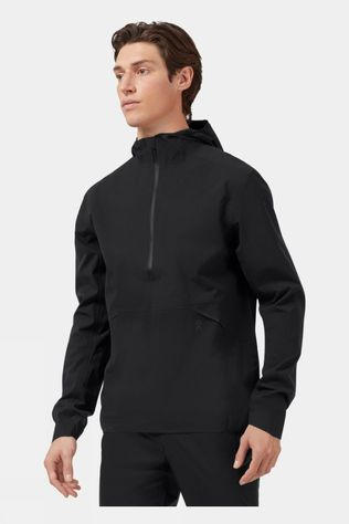 On Men's Waterproof Anorak Black