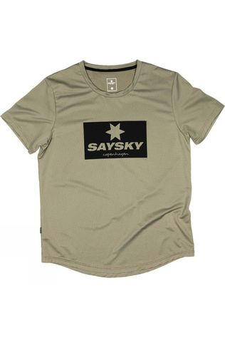 Saysky Unisex Box Combat Tee Silver Sage