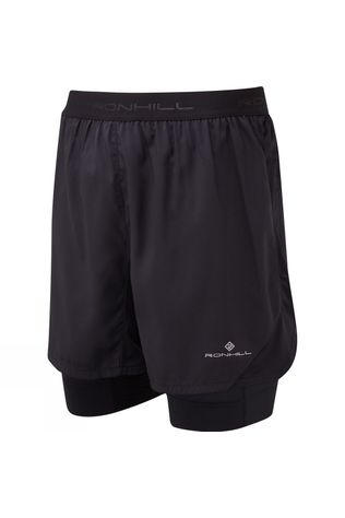 Ronhill Stride Revive Twin Short All Black