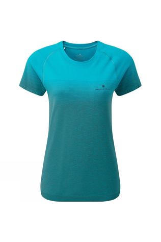 Ronhill Women's Tech Marathon Tee Spa Green/Grey Marl