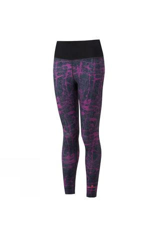 Ronhill Womens Momentum Crop Tight Grape Juice Rock