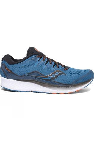 Saucony Mens Ride ISO 2 Black/Blue