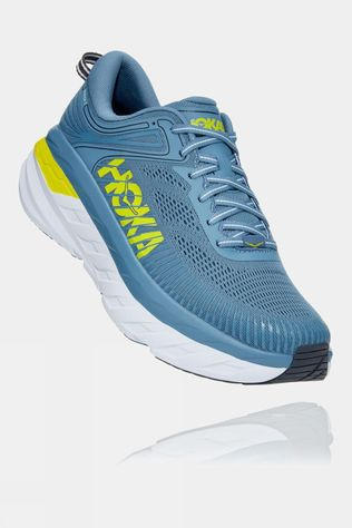 Hoka One One Men's Bondi 7 Provincial Blue/ Citrus