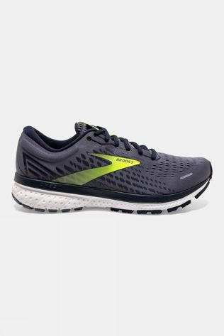 Brooks Men's Ghost 13 Grey/Navy/Nightlife