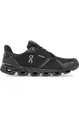 On Men's Cloudflyer Waterproof Black/Lunar