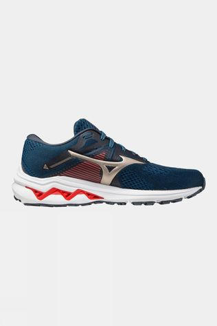 Mizuno Men's Wave Inspire 17 India Ink / Platinum Gold / Ignition Red