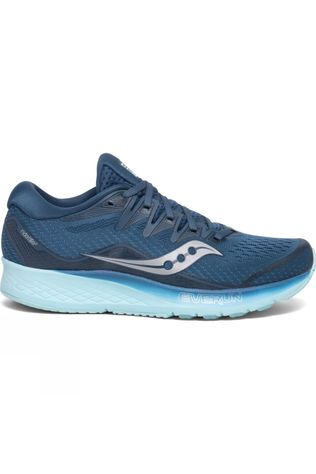 Saucony Womens Ride ISO 2 Blue/Aqua