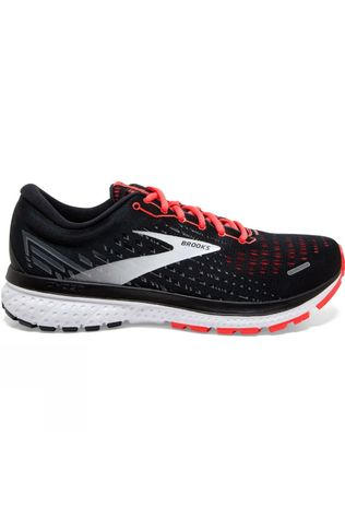 Brooks Women's Ghost 13 Black/Ebony/Coral