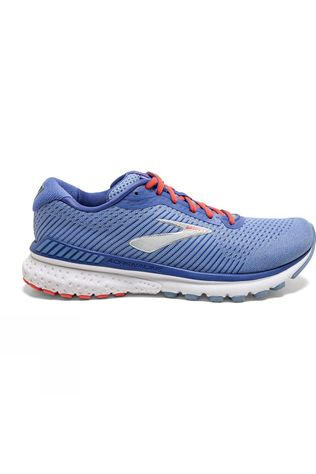 Brooks Women's Adrenaline GTS 20 Bel Air Blue/Coral/Silver