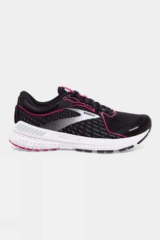 Brooks Women's Adrenaline GTS 21 Black/Raspberry/Sorbet/Ebony