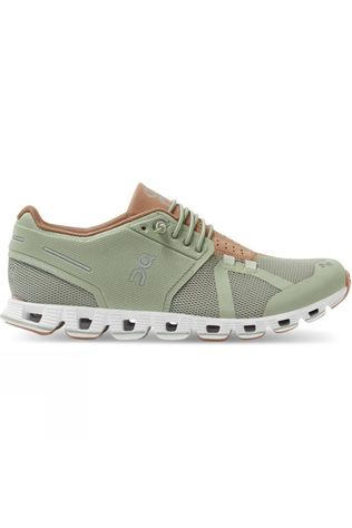 On Womens Cloud Leaf/Mocha