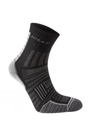 Hilly Twin Skin Anklet Sock Black/Grey Marl