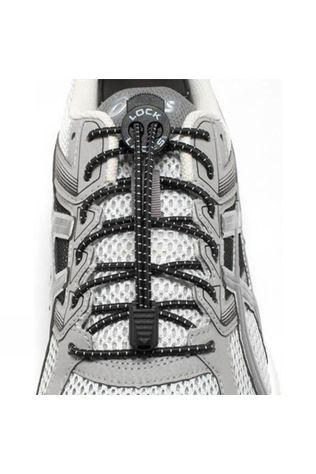 Nathan Run Lock Laces 2 Pack Black