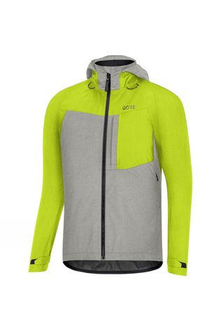 Gore C5 Gore-Tex Trail Hooded Jacket Yellow/Silver