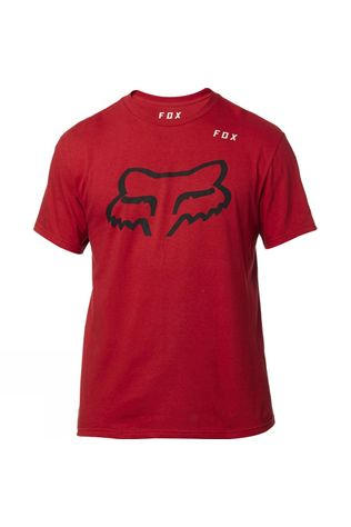 Fox Mens Grizzly Basic Tee RED