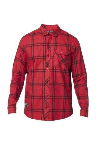 Fox Mens Voyd 2.0 Flannel RED