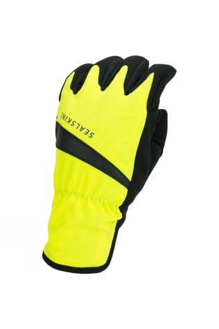 SealSkinz Men's Waterproof All Weather Cycle Glove Yellow/Black