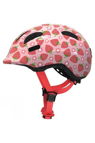 Abus Smiley 2.1 Kids Helmet Rose Strawberries