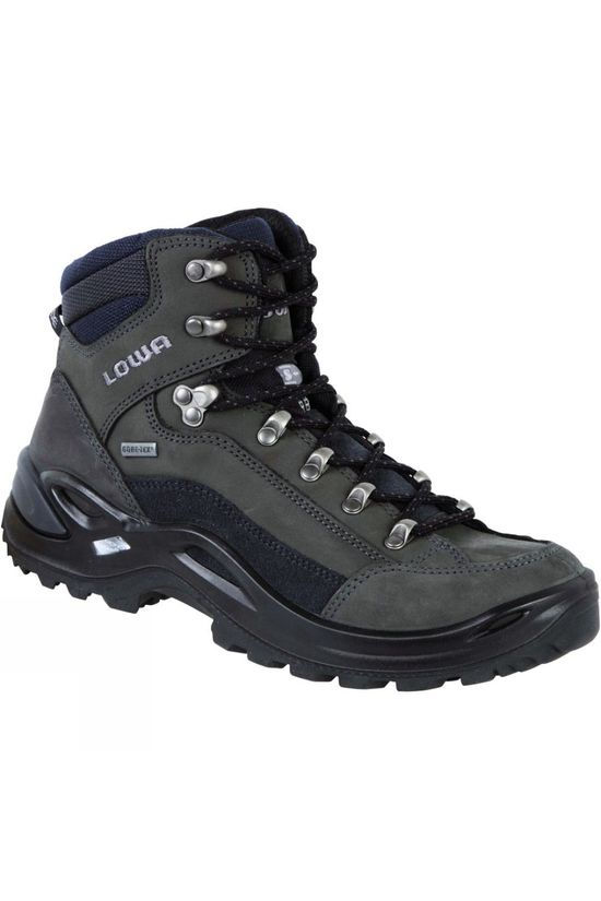 Lowa Womens Renegade GTX Mid Narrow Boot Dark Grey/Navy