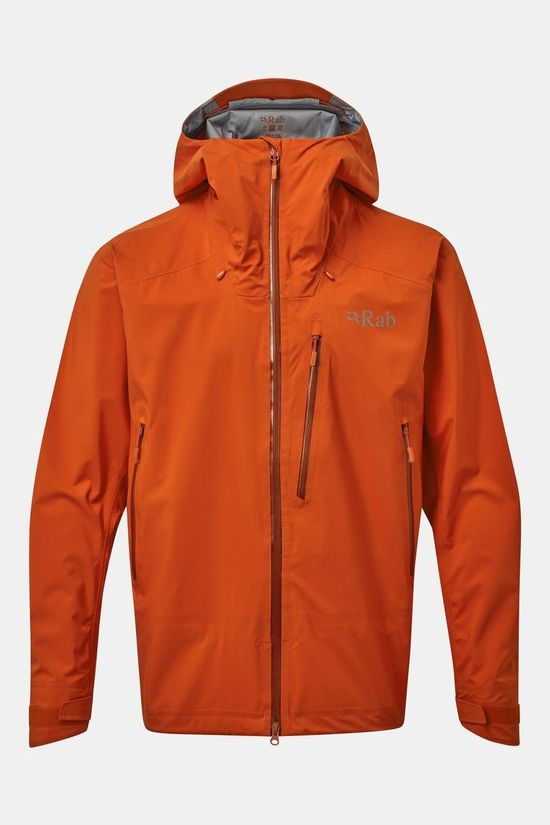Rab Mens Firewall Jacket Firecracker
