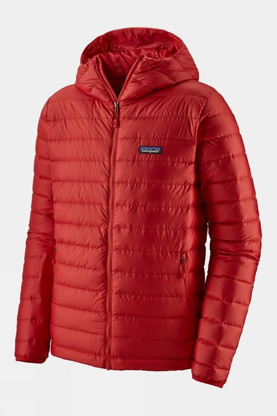 Patagonia Mens Down Sweater Hoody Fire