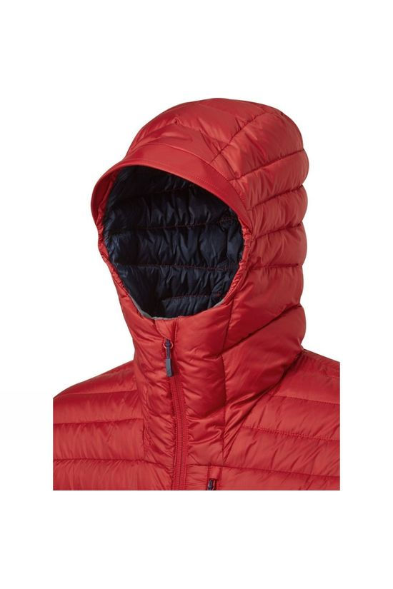 Rab Mens Microlight Alpine ECO Jacket Ascent Red