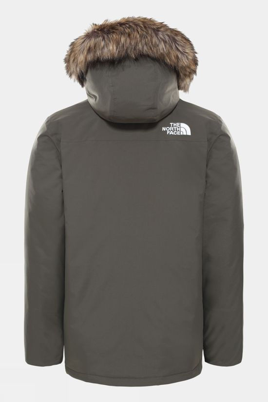The North Face Mens Recycled Zaneck Jacket New Taupe Green