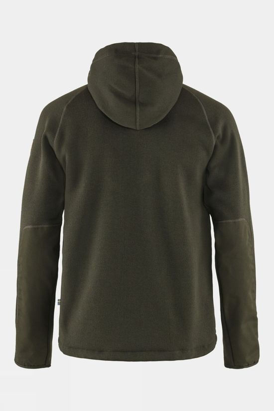Fjallraven Men's Ovik Fleece Hoodie Deep Forest