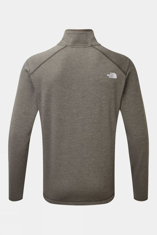 The North Face Mens Purna Fleece  New Taupe Green Dark Heather