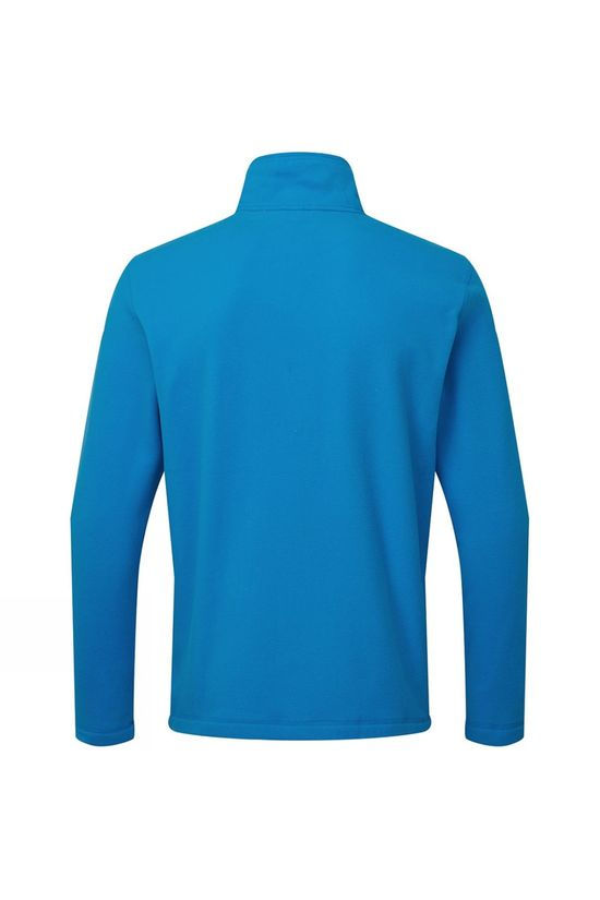 The North Face Mens Cornice II 1/4 Zip Fleece Clear Lake Blue