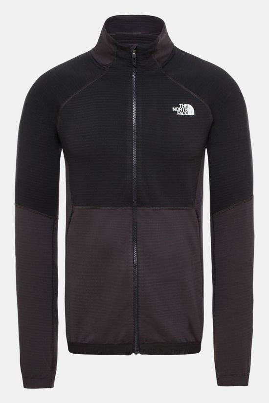 The North Face Mens Impendor Midlayer Fleece Weathered Black/Tnf Black