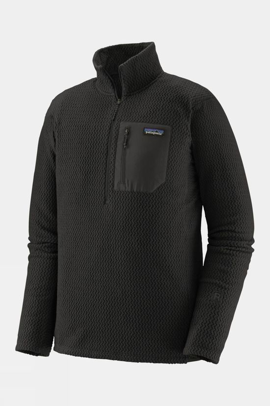 Patagonia Men's R1 Air Zip-Neck Black