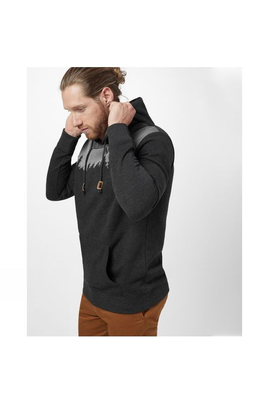 Tentree Juniper Classic Hoodie Meteorite Black Heather