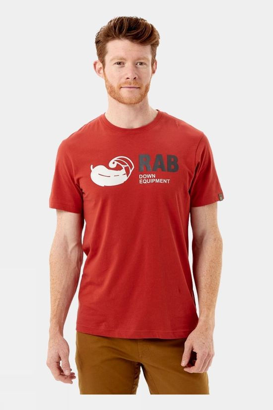 Rab Mens Stance Vintage SS Tee Red Clay
