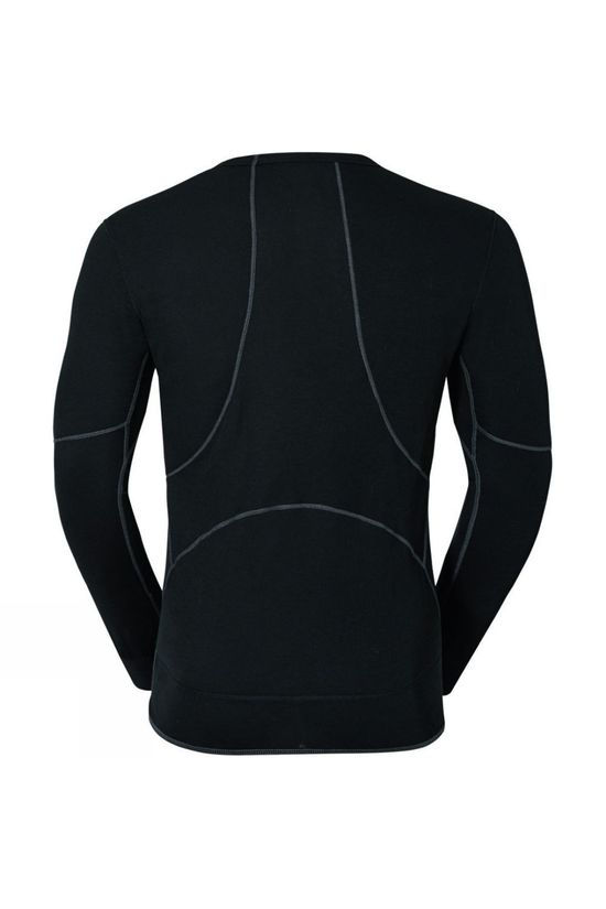 Odlo Mens Active X-Warm Long-Sleeve Base Layer Top Black