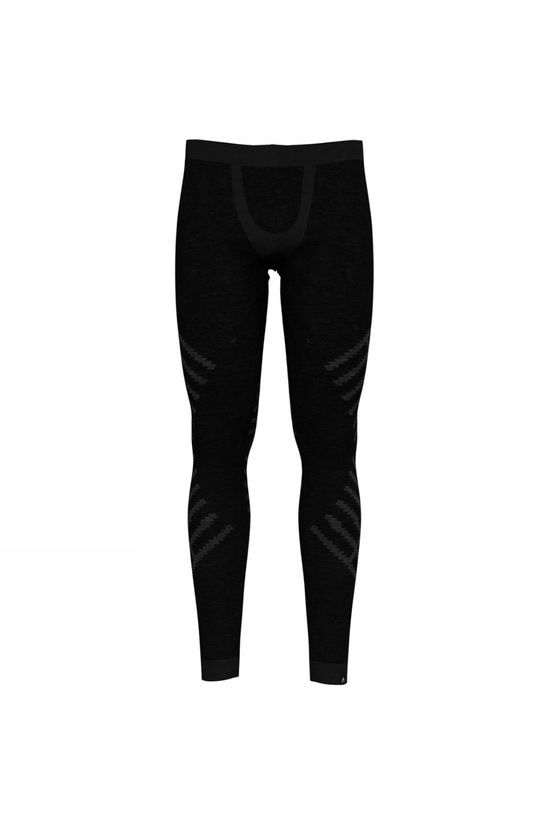 Odlo Mens Natural + Kinship Long Pant Black Melange