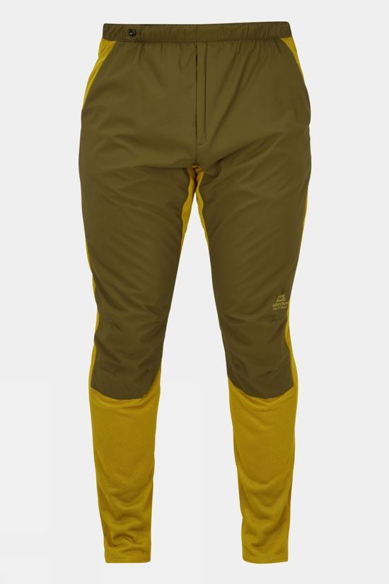 Mountain Equipment Mens Kinesis Base Pant Fir Green/Acid